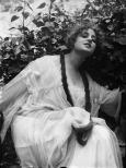 L'attrice Pina Menichelli