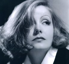 L'attrice Premio Oscar Greta Garbo