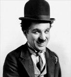 L'attore ,regista e produttore Charlie Chaplin