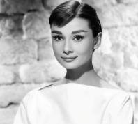 L'attrice Audrey Hepburn